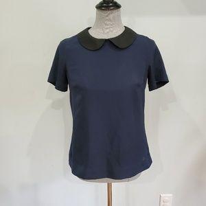Merona collared blouse